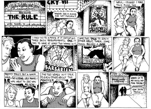 Alison Bechdel/ Dykes to Watch Out For